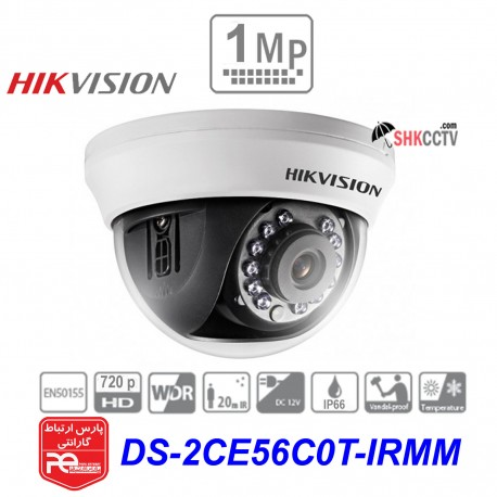 1MP HDTVI DS-2CE56C0T-IRMM