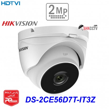دوربین مداربسته HIKVISION HDTVI DS-2CE56D7T-IT3Z