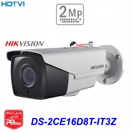 دوربین مداربسته HIKVISION HDTVI DS-2CE16D8T-IT3Z