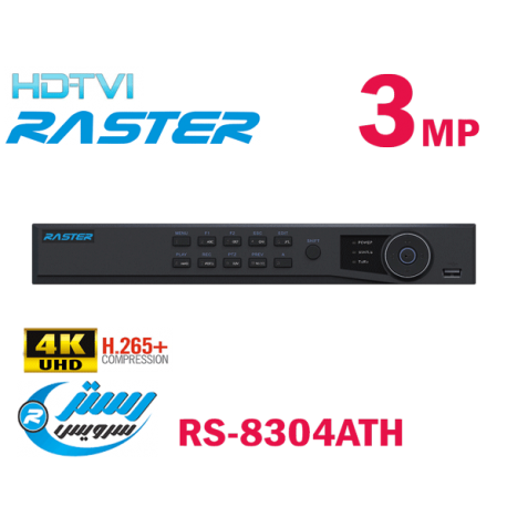 RS-8304ATH TVI 3MP