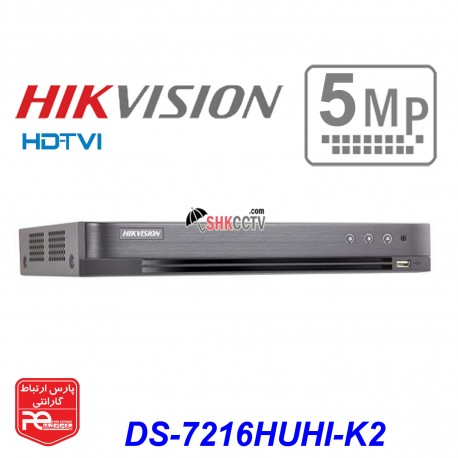 DS-7216HUHI-K2 TVI 5MP