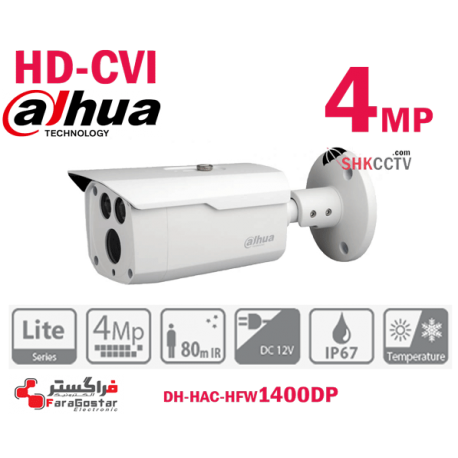 HFW1400DP 4MP HDCVI