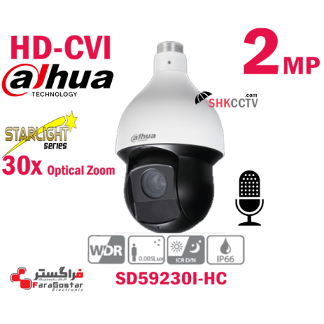 SD59230I-HC HDCVI 2MP